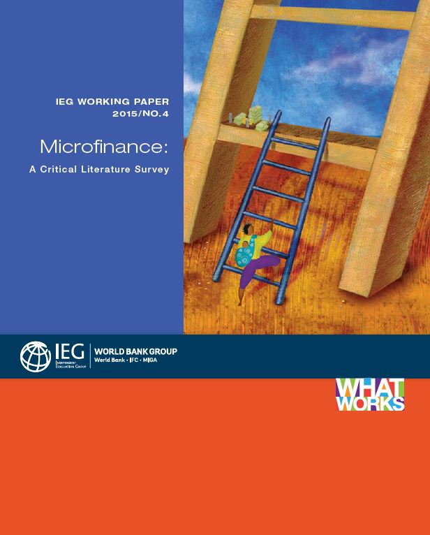 review of literature on microfinance