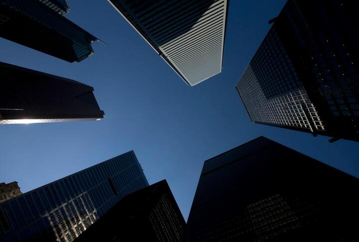 Bank towers in Toronto's financial district.Brent Lewin/Bloomberg files