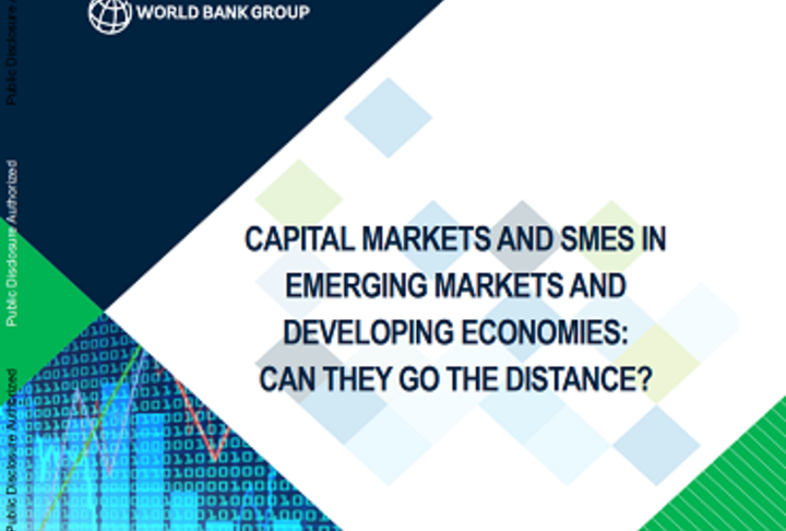Capital Markets and SMEs in Emerging Markets and Developing Economies - Cover