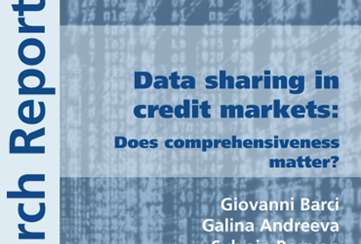 Data Sharing in Credit Markets Publication Cover