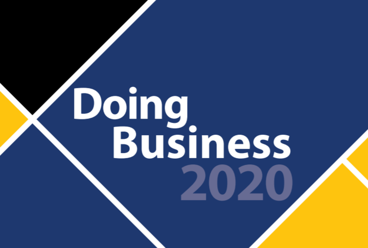 Doing Business Comparing Business  Regulation in 190 Economies 2020