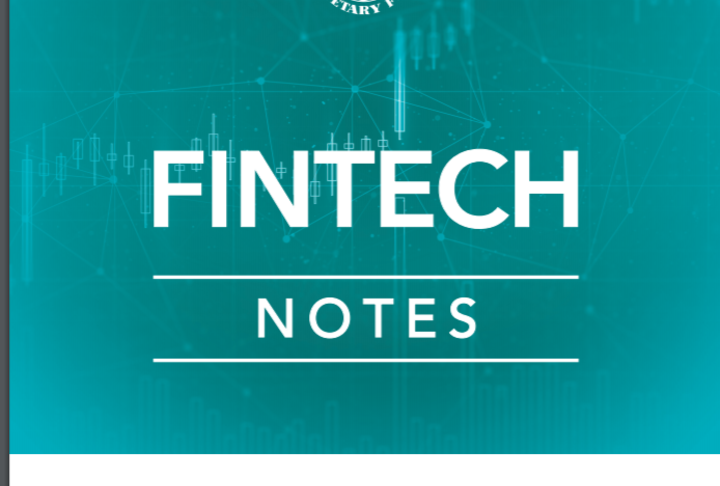 New IMF series, Fintech Notes: The Rise of Digital Money