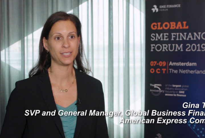 Video: Gina Taylor, SVP of American Express talks about use of data.