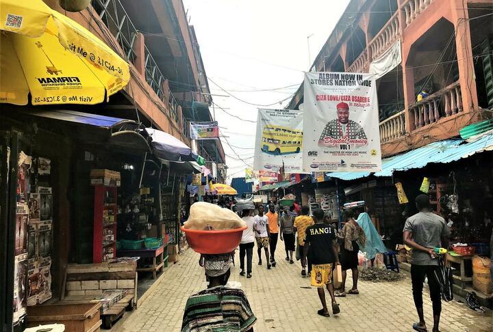 Photo Credit Accion - Alaba International market in Lagos
