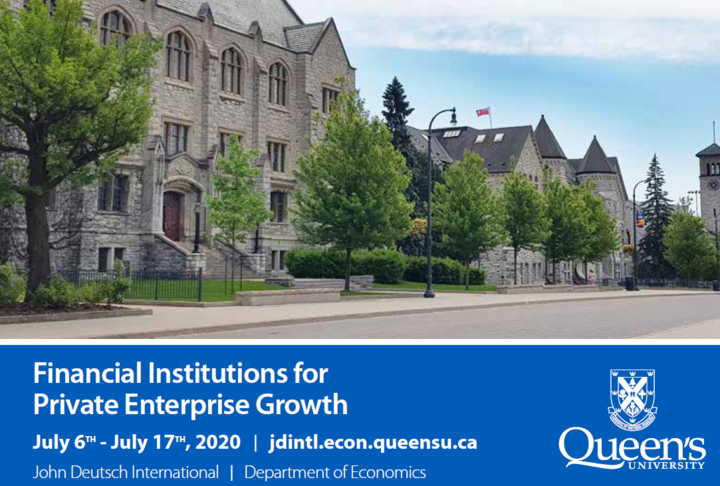 Special Offer for Members: Financial Institutions for Private Enterprise Growth Program FIPEG 2020- Queen's University