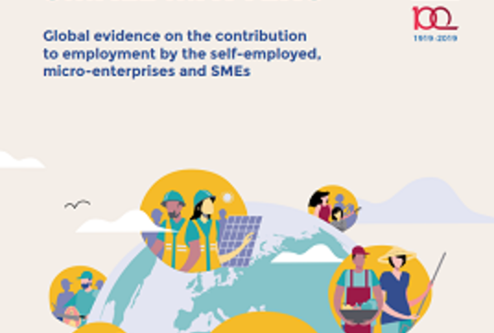SMALL MATTERS. Global evidence on the contribution to employment by the self-employed, micro-enterprises and SMEs