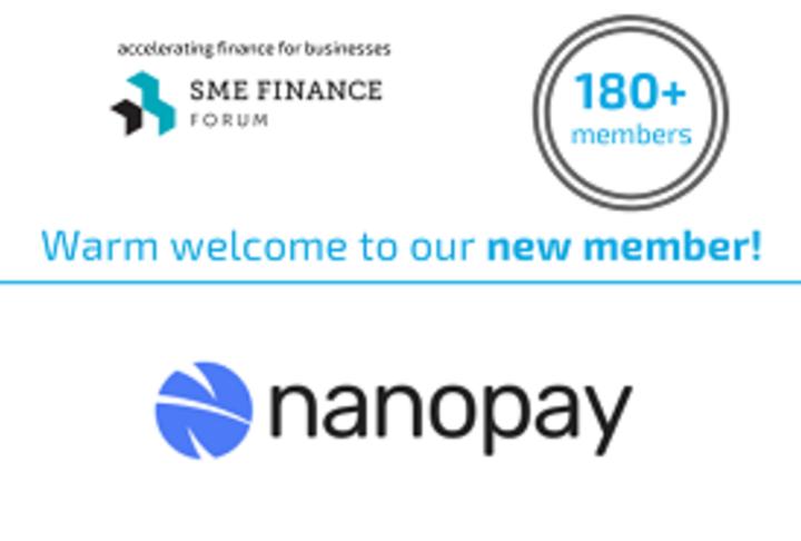Member News: nanopay joins the SME Finance Forum global membership network