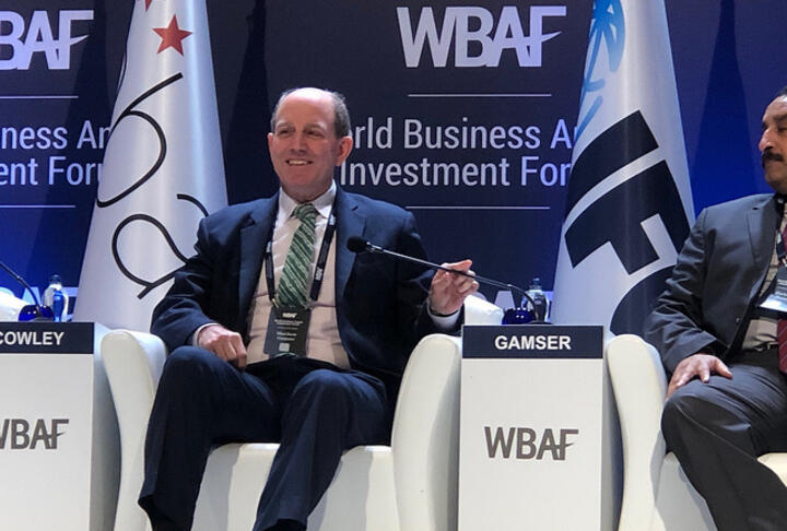 SME Finance Forum CEO Talks Financial Inclusion for SMEs at the WBAF Ministerial Roundtable