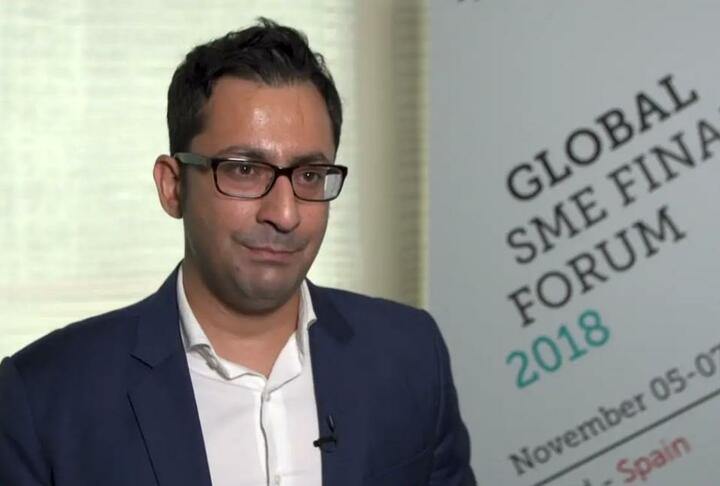 Ankur Mehrotra, Managing Director of Grab Talks Expansion During the SME Finance Forum 2018