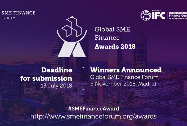 SME Finance Forum Launches the Global SME Finance Awards