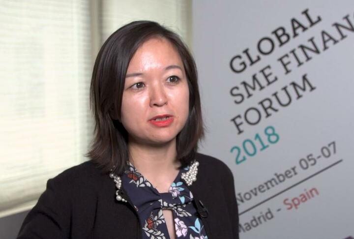 Zhaoli Meng, Dean of JD Finance Research Institute Talks JD's Logistics Serving SMEs During the SME Finance Forum 2018