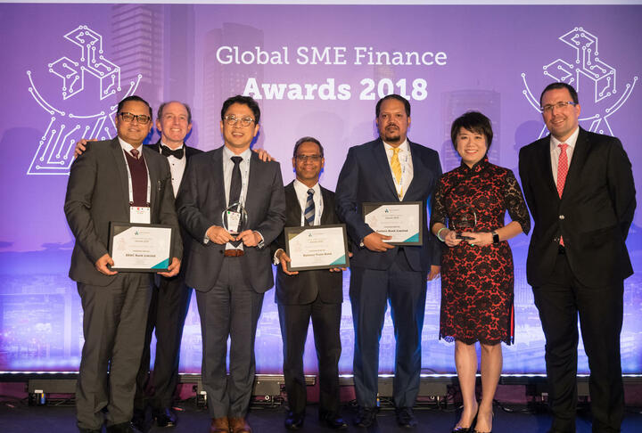 IFC, SME Finance Forum Honor 15 Firms That Are Helping Close a $5.2 Trillion Financing Gap