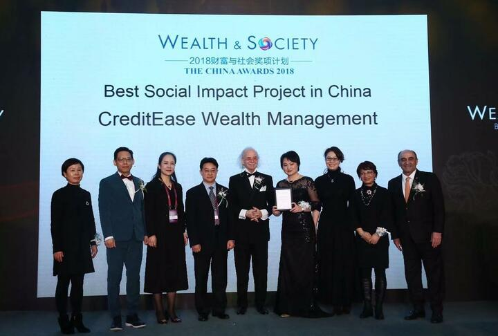 Member News: CreditEase Wealth Management Awarded Best Social Impact Project in Wealth and Society in China