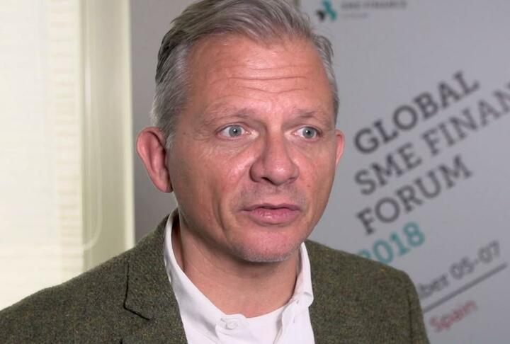 Matthias Kröner, CEO of FIDOR Bank Talks Banking at the Global SME Finance Forum 2018
