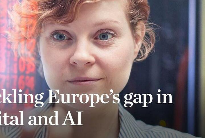 Tackling Europe's Gap in Digital and AI