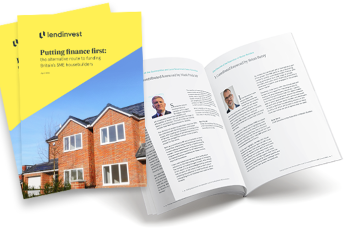 Putting Finance First: The Alternative Route to Funding Britain's SME Housebuilders