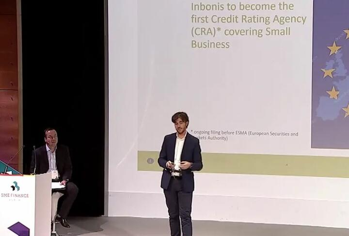 Inbonis Pitches Its Fintech Services at the Global SME Finance Forum 2018