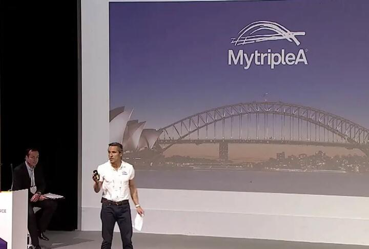 MyTripleA Pitches Its Fintech Services at the Global SME Finance Forum 2018