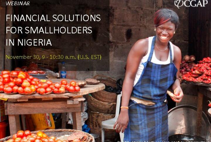 Webinar: Financial Solutions for Smallholders in Nigeria