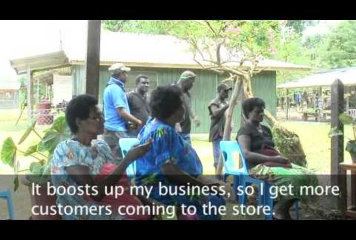 IFC & Bank South Pacific Rural Bring Banking Back to Papua New Guinea's Bougainville Region