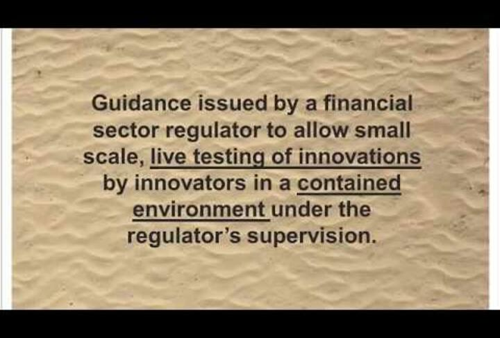 CGAP Webinar: Regulatory Sandboxes: Harnessing Innovation for Financial Inclusion?