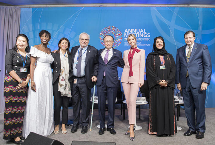 World Bank's Women Entrepreneurs Finance Initiative (We-Fi) Launched with Ivanka Trump, Donors