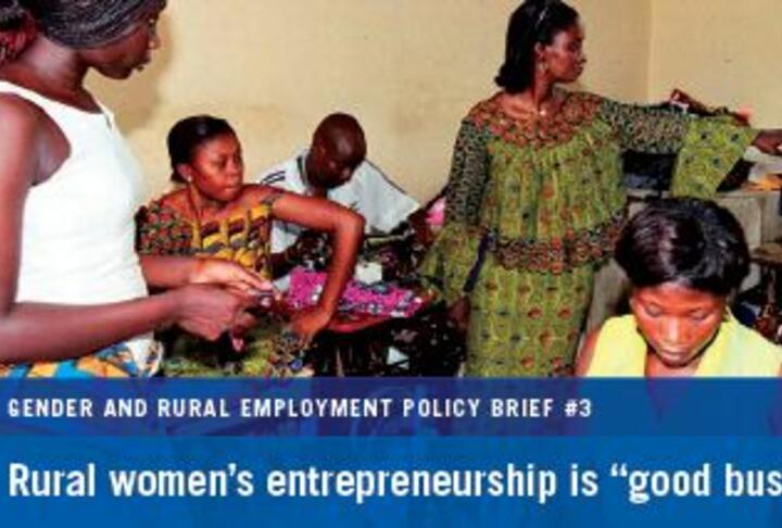 entrepreneurship rural women entrepreneurship Agriculture and rural development discussion paper 49 june 2011 sustainable support system for rural women entrepreneurs: ethiopia naotaka sawada and vedini harishchandra.