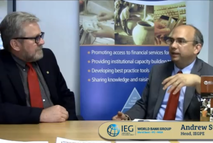 Interview with the Manager of the recent SME Support Activities in the World Bank.