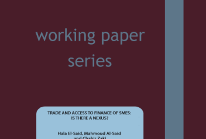 """Trade and Access to Finance of SMEs: Is there a Nexus?"""""""