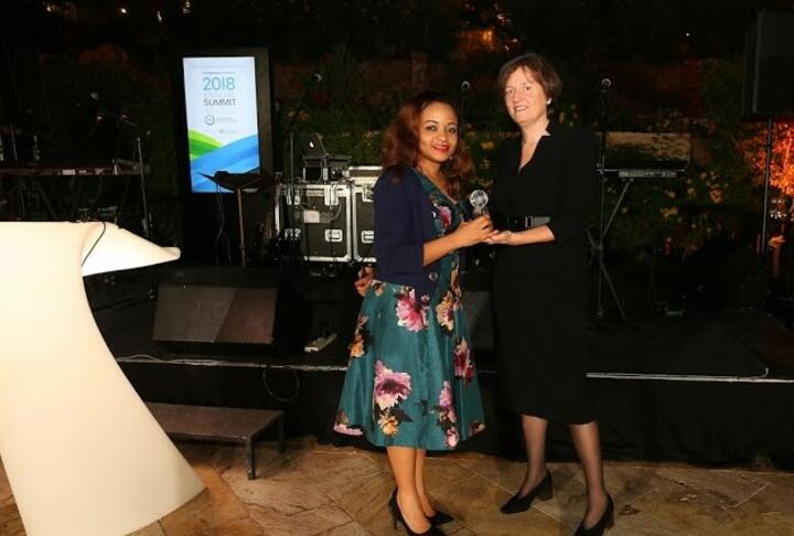 Member News: Diamond Bank Takes Home the Women's Market Champion Award
