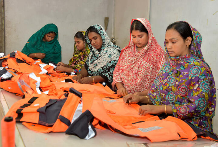 """""""Financial inclusion could empower women and accelerate Bangladesh's progress."""""""