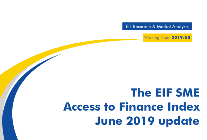 Working Paper: The EIF SME Access to Finance Index June 2019 update