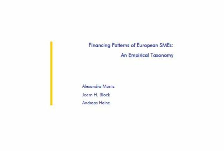 Financing Patterns of European SMEs: An Empirical Taxonomy