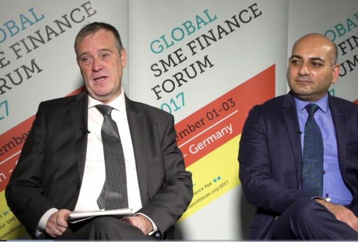 The Banker Interview from Global SME Finance Forum with EIB and IFC