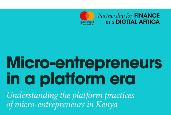 Research: Micro-entrepreneurs in the Platform Era
