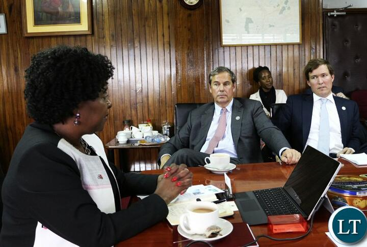 Member News: OPIC Explores Opportunities to Link American Investors with Zambian Entrepreneurs, Including Women.