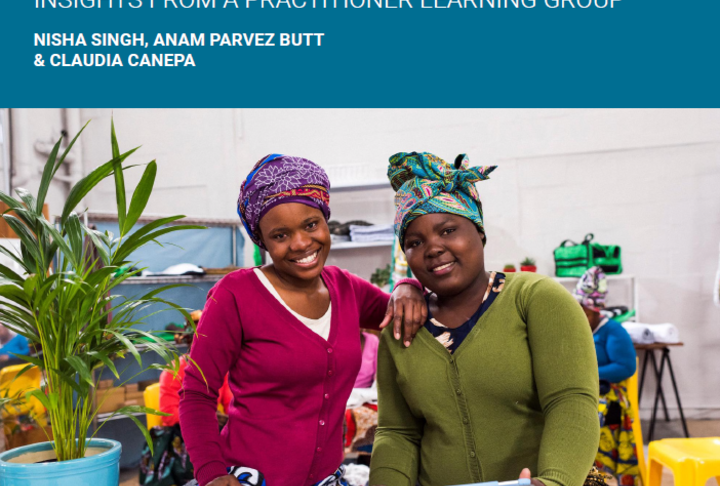 Report: Shifting Social Norms in the Economy for Women's Economic Empowerment
