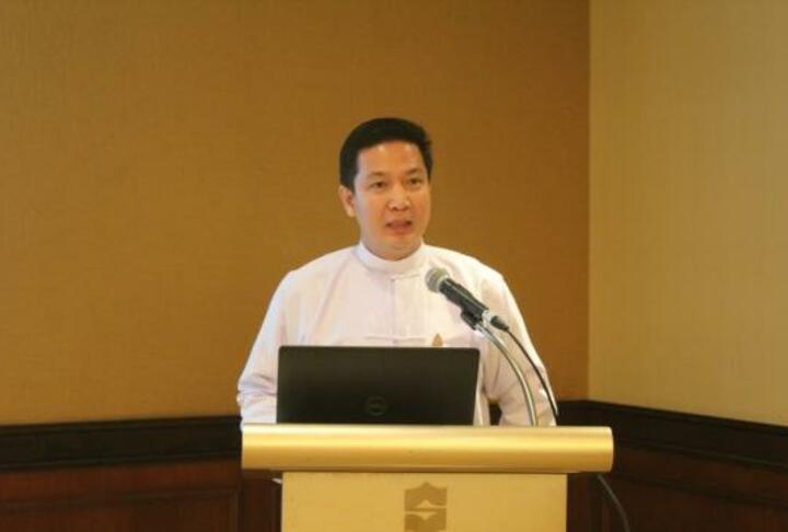 Zaw Lin Aung, managing director of KBZ Bank