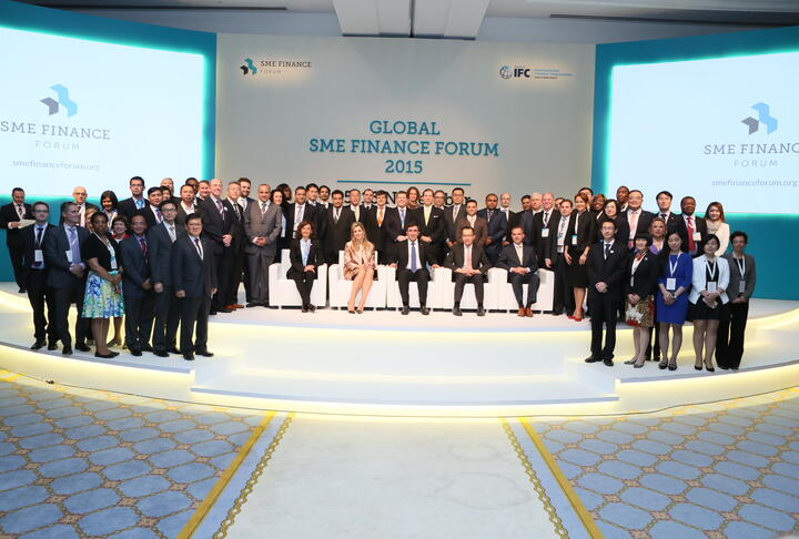 Launch of SME Finance Forum Global Member Network - Video