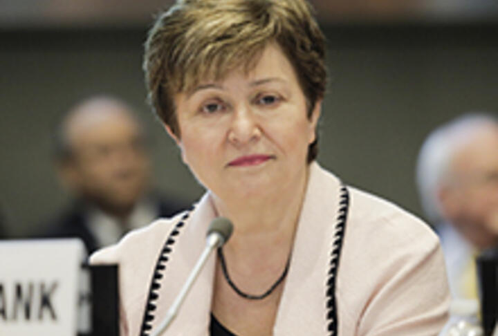 World Bank's Kristalina Georgieva: To End Poverty, Tap Full Potential of Women Starting Businesses
