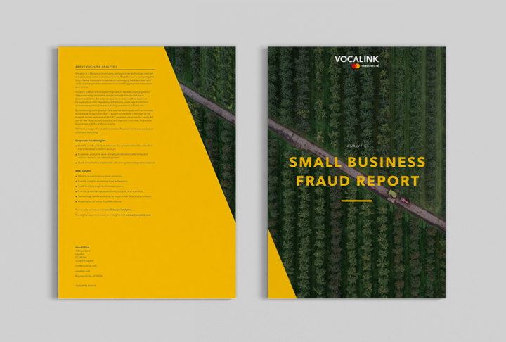 Vocalink Publishes Small Business Fraud Report