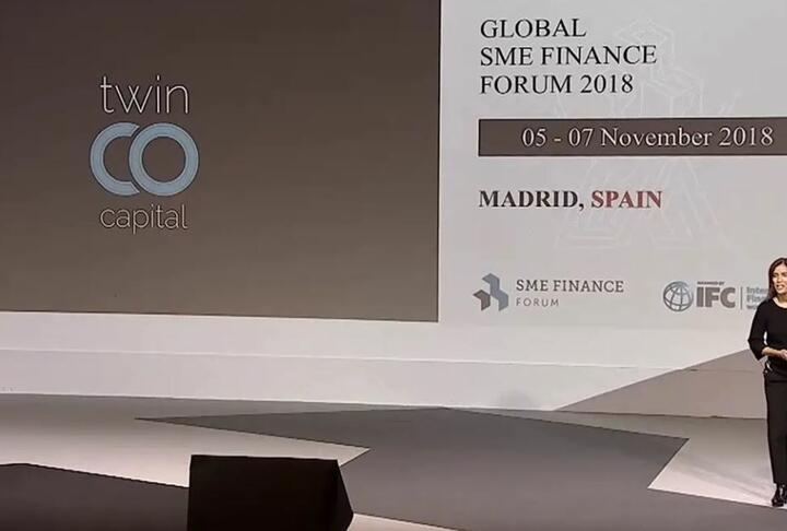 Twinco Capital Pitches Its Fintech Services at the Global SME Finance Forum 2018