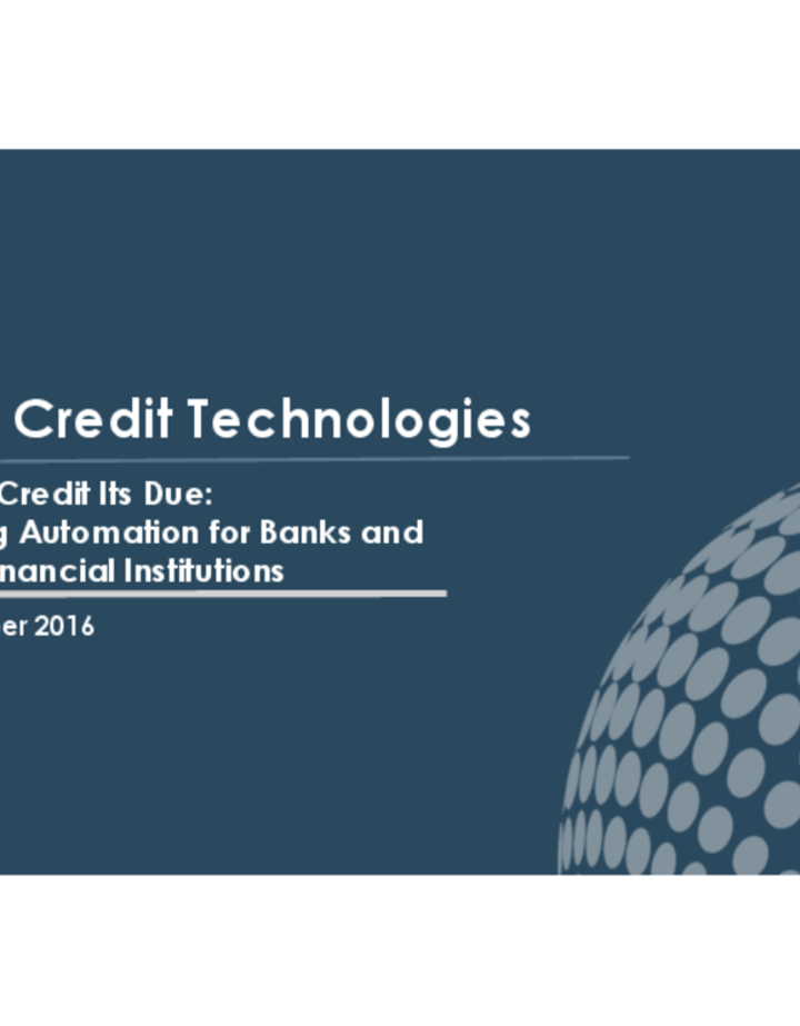 AMP CREDIT TECHNOLOGIES