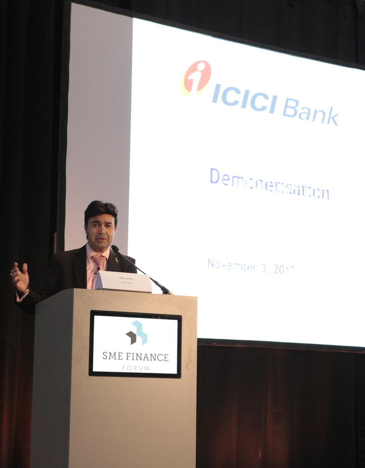 Keynote: Demonetization and its Impact on the SME Market in India Vijay