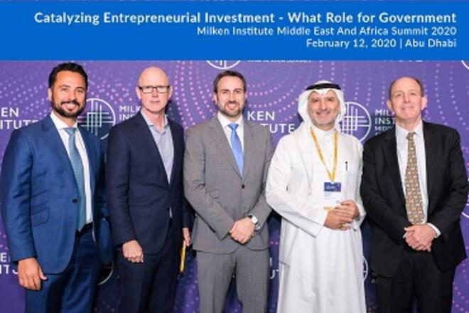 Panel Catalyzing Entrepreneurial Investment - MEA Summit 2020 - Milken Institute