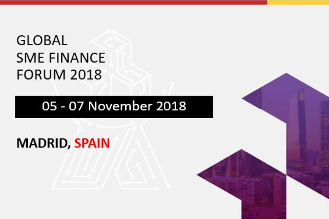 Five Win $1000 Tickets to the Global SME Finance Forum 2018 in Madrid this November!
