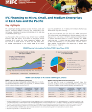 IFC Financing to Micro, Small, and Medium Enterprises in East Asia and the Pacific