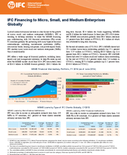 IFC Financing to Micro, Small, and Medium Enterprises Globally (FY2014)