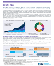 IFC Financing to Micro, Small, and Medium Enterprises in South Asia
