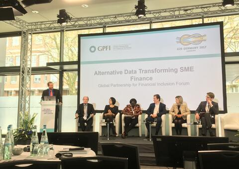 Alternative Data and SME Financing Center stage at G20/GPFI Forum in Berlin